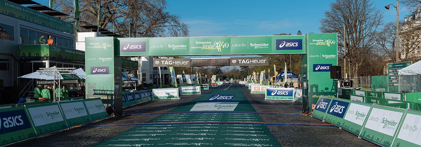 Doublet prestataire du 40ème Marathon de Paris
