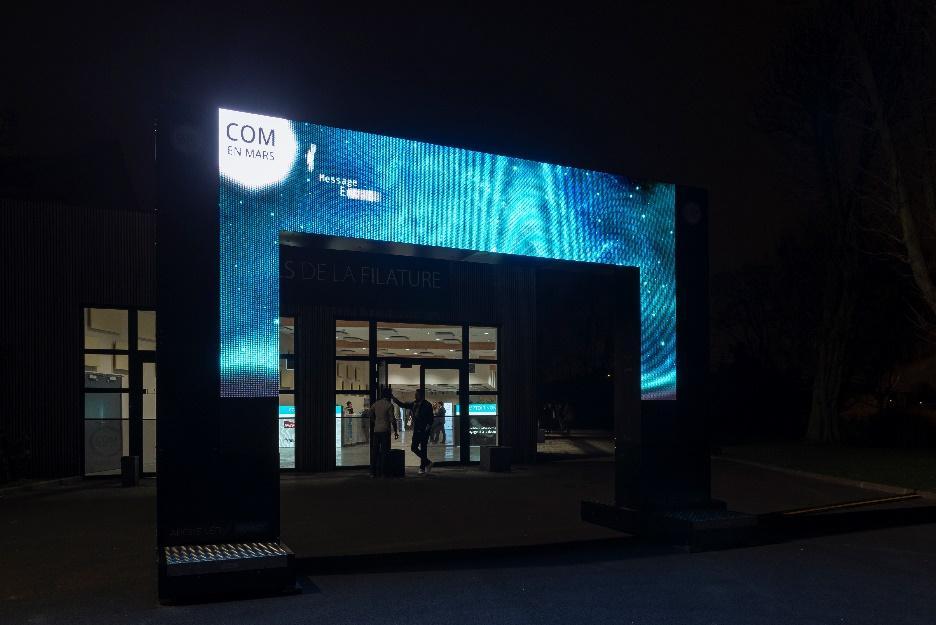 Arche digitale doublet de nuit